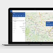 TrustTrack with Google maps