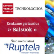 Ruptela - among leading ICT companies in Lithuania